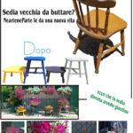 riciclare vecchie sedie