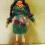 ancora bambole  in feltro
