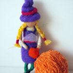 bambola in feltro