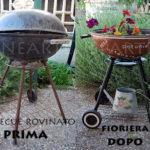 come trasformare un vecchio barbecue