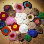Tutorial: come realizzare un bouquet con scarto di feltro