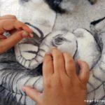 14° concorso di arazzo a telaio e fiber art, feltro pittorico di NearteNeparte