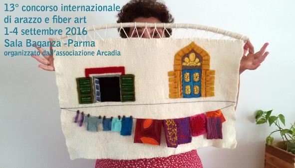 Concorso Internazionale di Arazzo a telaio e Fiber Art - 2016