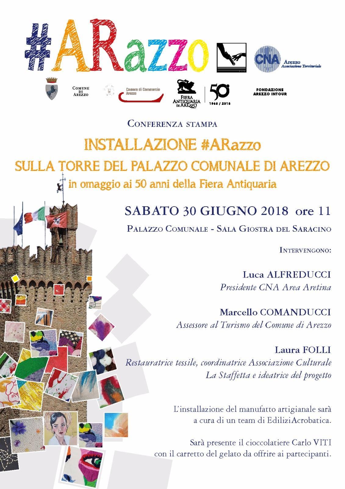 50° anniversario fiera antiquaria della città di Arezzo - 2018