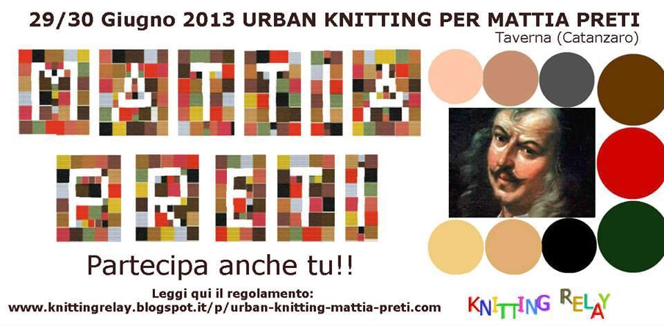Urban Knitting per Mattia Preti