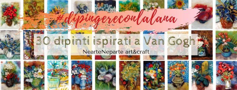 dipingere con la lana tutti i dipinti ispirati a van gogh